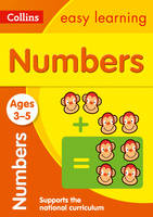 Collins Easy Learning - Numbers Ages 3-5 - 9780008151546 - V9780008151546