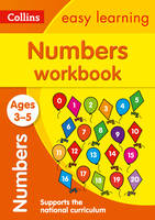 Collins Easy Learning - Numbers Workbook Ages 3-5 - 9780008151553 - V9780008151553