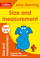 Collins Easy Learning - Size and Measurement Ages 3-5 - 9780008151584 - V9780008151584