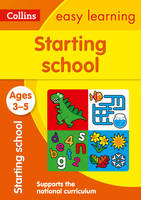 Collins Easy Learning - Starting School Ages 3-5 - 9780008151591 - V9780008151591