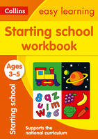 Collins Easy Learning - Starting School Workbook Ages 3-5 - 9780008151607 - 9780008151607