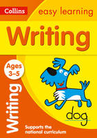 Collins Easy Learning - Writing Ages 3-5 - 9780008151614 - 9780008151614