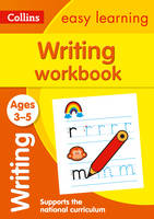 Collins Easy Learning - Writing Workbook Ages 3-5 - 9780008151621 - V9780008151621