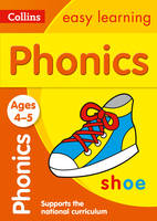 Collins Easy Learning - Phonics Ages 4-5 - 9780008151645 - V9780008151645