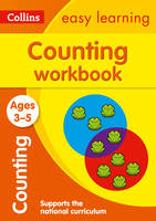 Collins Easy Learning - Counting Workbook Ages 3-5 - 9780008152284 - V9780008152284