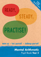 Keen Kite Books - Year 3 Mental Arithmetic Pupil Book: Maths KS2 (Ready, Steady, Practise!) - 9780008161224 - V9780008161224