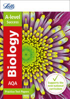 Collins UK - Letts A-level Practice Test Papers - New 2015 Curriculum – AQA A-level Biology: Practice Test Papers - 9780008179014 - V9780008179014