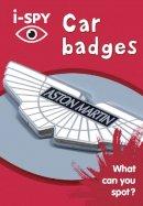 i-SPY - i-Spy Car Badges: What Can You Spot? - 9780008182793 - V9780008182793