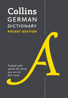 Collins Dictionaries - Collins German Dictionary: Pocket Edition - 9780008183639 - V9780008183639