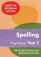 Keen Kite Books - Year 2 Spelling Pupil Book: English KS1 (Ready, Steady, Practise!) - 9780008184544 - V9780008184544