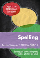 Keen Kite Books - Year 1 Spelling Teacher Resources with CD-ROM: English KS1 (Ready, Steady, Practise!) - 9780008184728 - V9780008184728