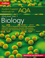 Boyle, Mike - AQA A level Biology Year 1 & AS Topics 3 and 4 (AQA Student Support Materials) - 9780008189464 - V9780008189464