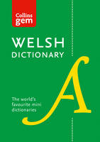 Collins Dictionaries - Welsh Dictionary (Collins Gem) - 9780008194833 - V9780008194833