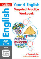 Collins UK - Year 4 English Targeted Practice Workbook (Collins KS2 SATs Revision and Practice) - 9780008201661 - V9780008201661