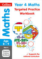 Collins UK - Year 4 Maths Targeted Practice Workbook (Collins KS2 SATs Revision and Practice) - 9780008201708 - V9780008201708