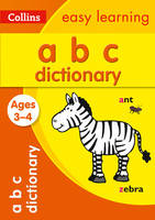 Collins Dictionaries - Collins Easy Learning – Picture Dictionary Ages 3 to 4 (Collins Easy Learning Preschool) - 9780008209469 - V9780008209469