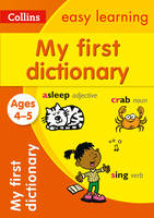 Collins UK - Dictionary Ages 4 to 5 (Collins Easy Learning) - 9780008209483 - V9780008209483
