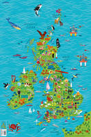 Collins Maps - Children's Wall Map of the United Kingdom and Ireland - 9780008212087 - V9780008212087