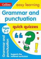 Collins Uk - Grammar & Punctuation Quick Quizzes: Ages 5-7 (Collins Easy Learning KS1) - 9780008212469 - V9780008212469