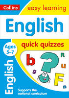 Collins Uk - English Quick Quizzes: Ages 5-7 (Collins Easy Learning KS1) - 9780008212537 - V9780008212537