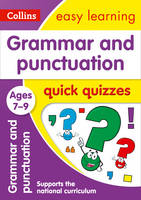 Collins Uk - Grammar and Punctuation Quick Quizzes: Ages 7-9 (Collins Easy Learning KS2) - 9780008212551 - V9780008212551