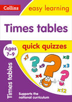 Collins UK - Times Tables Quick Quizzes: Ages 7-9 (Collins Easy Learning KS2) - 9780008212582 - V9780008212582