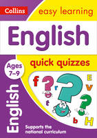 Collins UK - English Quick Quizzes: Ages 7-9 (Collins Easy Learning KS2) - 9780008212636 - V9780008212636