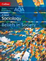 Holborn, Martin, Copeland, Judith - AQA A Level Sociology Beliefs in Society (Collins Student Support Materials) - 9780008221652 - V9780008221652