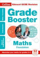 Collins UK - Collins GCSE Revision and Practice - New Curriculum – Edexcel GCSE Maths Foundation Grade Booster for grades 3–5 (Collins GCSE 9-1 Revision) - 9780008227357 - V9780008227357