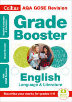 Collins UK - Collins GCSE Revision and Practice - New Curriculum – AQA GCSE English Language And English Literature Grade Booster for grades 4–9 (Collins GCSE 9-1 Revision) - 9780008227388 - KSG0018115