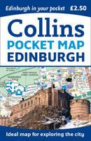 Collins Maps - Edinburgh Pocket Map - 9780008229290 - V9780008229290