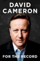 David Cameron - For the Record - 9780008239282 - V9780008239282