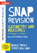Collins Uk - Collins Snap Revision – Geometry and Measures (for papers 1, 2 and 3): Edexcel GCSE Maths Higher - 9780008242343 - V9780008242343