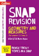 Collins GCSE - Geometry and Measures (for Papers 1, 2 and 3): AQA GCSE Maths Higher (Collins Snap Revision - For the 2017 Exams) - 9780008242367 - V9780008242367