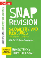 Collins GCSE - Geometry and Measures (for Papers 1, 2 and 3): AQA GCSE Maths Foundation (Collins Snap Revision - For the 2017 Exams) - 9780008242374 - V9780008242374