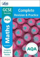 Collins UK - Letts GCSE Revision Success - New Curriculum – AQA GCSE Maths Foundation Complete Revision & Practice (Letts GCSE 9-1 Revision Success) - 9780008246990 - V9780008246990