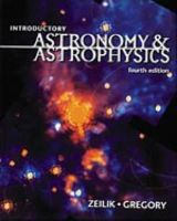 Gregory, Stephen A., Zeilik, Michael - Introductory Astronomy and Astrophysics (Saunders Golden Sunburst Series) - 9780030062285 - V9780030062285