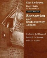 Michael R. Edgmand~Ronald L. Moomaw~Kent W. Olson - Economics and Contemporary Issues - 9780030246883 - KEX0160731