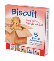 Capucilli, Alyssa Satin - Biscuit Take-Along Storybook Set: 5 Biscuit Adventures - 9780061625169 - V9780061625169