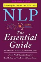 - NLP: The Essential Guide to Neuro-Linguistic Programming - 9780062083616 - V9780062083616