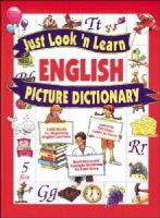 Hochstatter, Daniel J. - Just Look 'n Learn English Picture Dictionary - 9780071408332 - V9780071408332