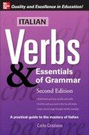Graziano, Carlo - Italian Verbs and Essentials of Grammar - 9780071498012 - V9780071498012