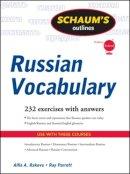 Rakova, Alfia A.; Parrott, Ray J. - Schaum's Outline of Russian Vocabulary - 9780071756440 - V9780071756440