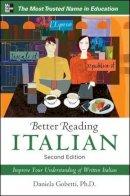 Gobetti, Daniela - Better Reading Italian - 9780071770330 - V9780071770330