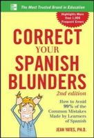 Yates, Jean - Correct Your Spanish Blunders - 9780071773003 - V9780071773003