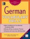 Stillman, David, Godor, Daniele, Gordon, Ronni - German Vocabulary Drills - 9780071826143 - V9780071826143