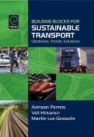 Adriaan Perrels - Building Blocks for Sustainable Transport: Obstacles, Trends, Solutions - 9780080447094 - V9780080447094