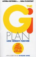 Govindji, Azmina, Puddefoot, Nina - The GI Plan: Lose Weight Forever (Previously published as The Gi Point Diet) - 9780091900090 - KON0835904