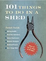 Beattie, Rob - 101 Things to Do in a Shed - 9780091906115 - KEX0300282