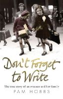 Hobbs, Pam - Don't Forget to Write - 9780091932503 - V9780091932503